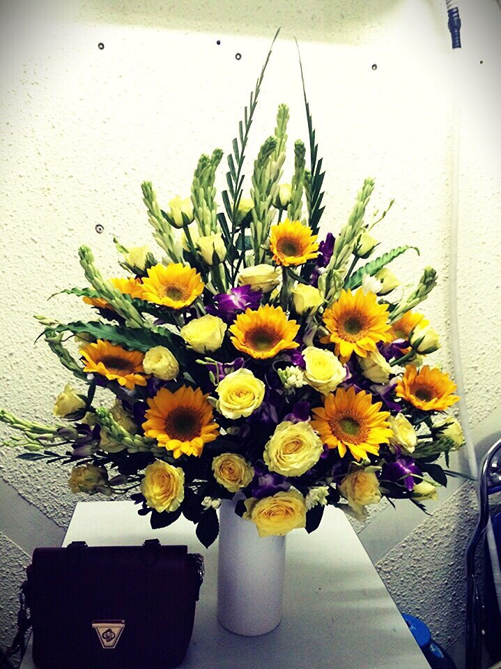 Học cắm hoa tại Nha Trang